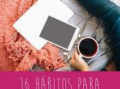 hábitos para llevar vida mejor