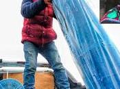 Continua ayuda humanitaria para damnificados frio...