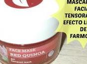 Review Mascarilla facial tensora efecto lifting Farmona