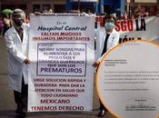 Cancelan cirugías Hospital Central falta insumos
