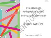 """comparte documento """"Orientaciones Pedagógicas para Priorización Curricular: ORIENTACIÓN"""", MINEDUC-Chile."""