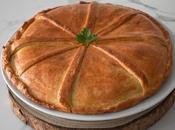 Empanada gallega chicharrones (roxóns rixons)