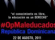 Anonymous contra gobierno Dominicano apoyo para educación
