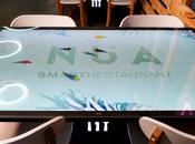 """NÜA, primer """"smart restaurant"""" Europa, está Gràc..."""