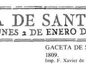 1809:la gazeta santander