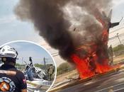 Vídeo: desploma helicóptero carretera Nuevo Laredo