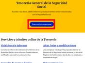 Import@ss, nuevo portal Tesorería General Seguridad Social