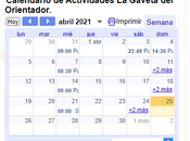 compartimos Calendario Actividades Internas Externas nuestro blog.