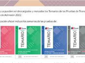 comparten Temarios Prueba Transición Proceso Admisión 2022 publicados DEMRE.