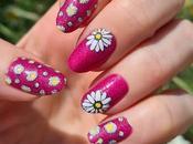 Reto locas nail abril 2021: Flores fucsia