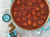 Albóndigas salsa