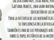 María Gaetana Agnesi nació mayo