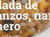 Ensalada Garbanzos, Naranja Romero