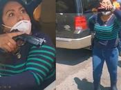 """Lady Pistola"" ministerial amenazó pistola madre detenido"