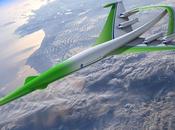 futuro aviación: aeronaves supersónicas ecológicas, experimentos aceites reciclados hidrógeno 2035