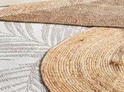 Yute fibras naturales para decoraciones exterior