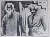 naturaleza realidad: encuentro entre Albert Einstein Rabindranath Tagore