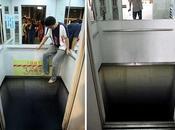 Ilusion óptica elevador