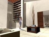 A-cero diseña interiorismo vivienda unifamiliar urbanización Madrid