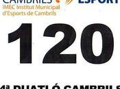 Full Sports Weekend Duatlón Cambrils (Tarragona) consecutivo mantiene línea moderadamente ascendente... Enjoying Time...!!