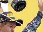 Vettel escapa hacia título doblete Bull