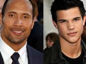 "Taylor Lautner Dwayne Johnson cerca ""Goliath"""
