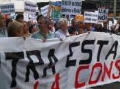 Protesta contra reforma constitución