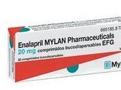 Enalapril Mylan comprimidos bucodispersables EFG, nuevo lanzamiento área Cardiología