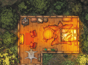 Cabin Woods Map, CZRPG