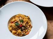 Cuscus especiado verduras