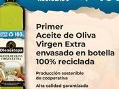 Oleoestepa lanza primer aceite oliva virgen extra botella fabricada íntegramente plástico reciclado
