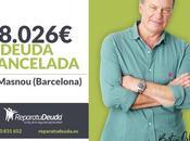 Repara Deuda Abogados cancela 18.026 Masnou (Barcelona) Segunda Oportunidad