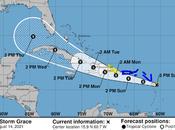 Cambio trayectoria tormenta Grace: Apunta hacia dominicano.
