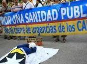 Periodismo Humano: Protestas contra recortes sanidad Catalunya
