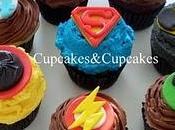 Cupcakes Temáticos: Superhéroes.