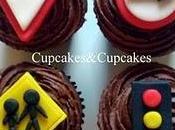 Cupcakes Temáticos: Señales Transito