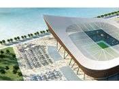 ecología marca gol. Correo Proyectos Estadios para Mundial Qatar 2022