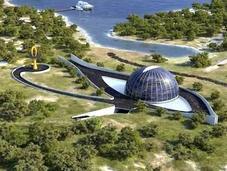 eco-casa Naomi Campbell, forma Horus