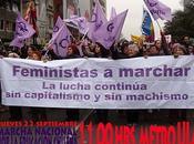 ¡¡¡Feministas Marchar, Lucha continúa Capitalismo Machismo!!! Este jueves Marcha Educación Chilena, horas Metro
