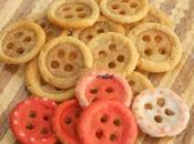 Botones dulces Coraline button cookies