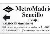 billete metro Madrid permitirá entrar gratis siete palacios octubre