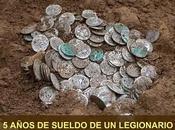 Tesoro romano 1.146 denarios plata