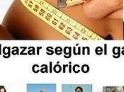 Adelgazar depende también consumo calorías