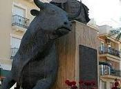 Churriana (granada) erigio monumento torero celebre: frascuelo