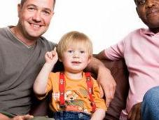 ¿Padres gay, hijos