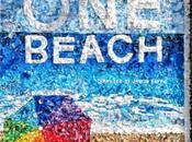 Mosaico desechos para concienciar sobre limpieza playas