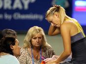 WTA: Sharapova tuvo retirarse Tokio