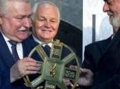 Lula Silva recibe Premio Lech Walesa