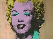 """Paseo arte... """"Marilyn Monroe oro"""""""