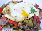 Huevo frito sanfaina